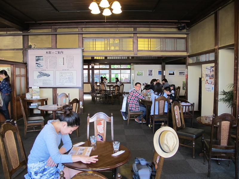 Inside the Fushimi Yume Hyakushu Café