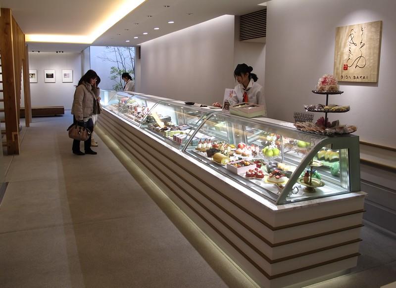 Patisserie Gion Sakai: Interior