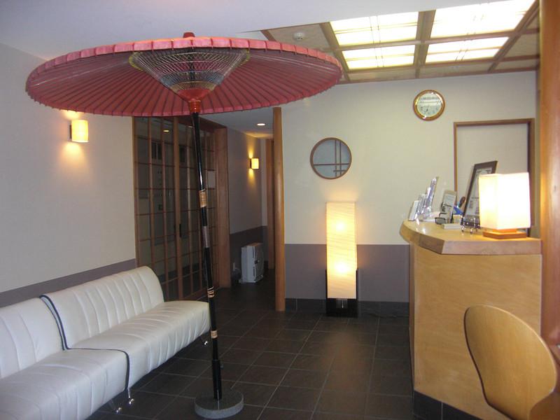 Budget Inn lobby