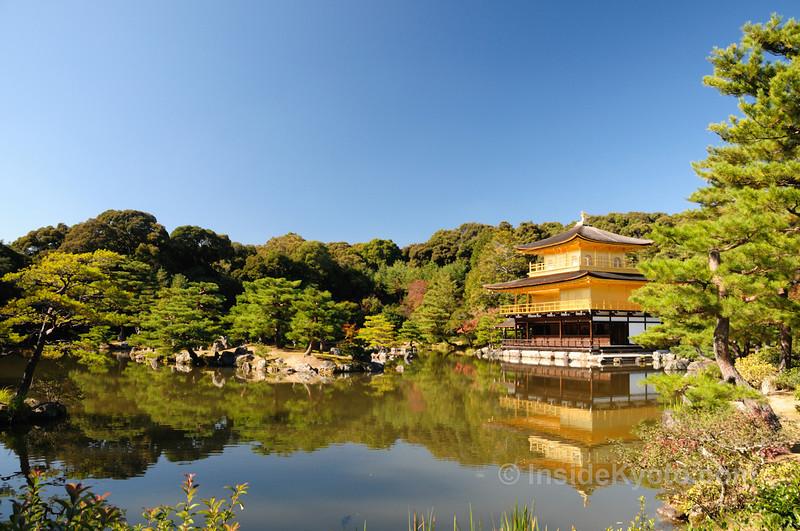 Kinkaju-ji Temple - The Golden Pavilion - Kyoto