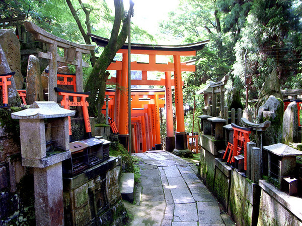Subshrine at Fushimi-Inari-Taisha Shrine