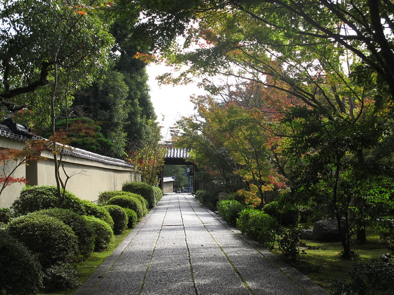 Entrance to Hoshun-in Temple, Daitoku-ji