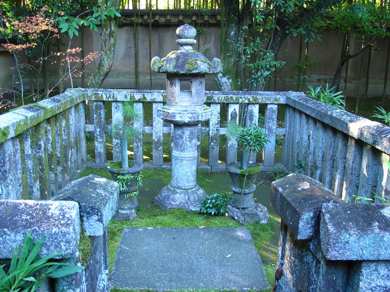 The stone lantern grave