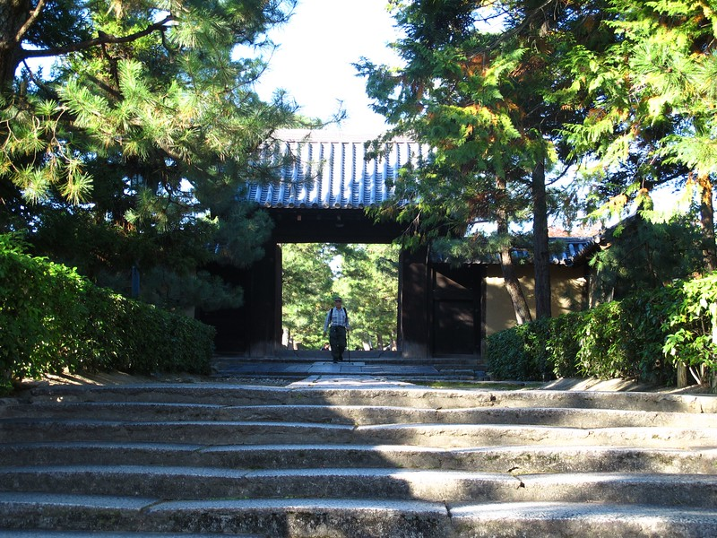 The southern exit of Daitoku-ji