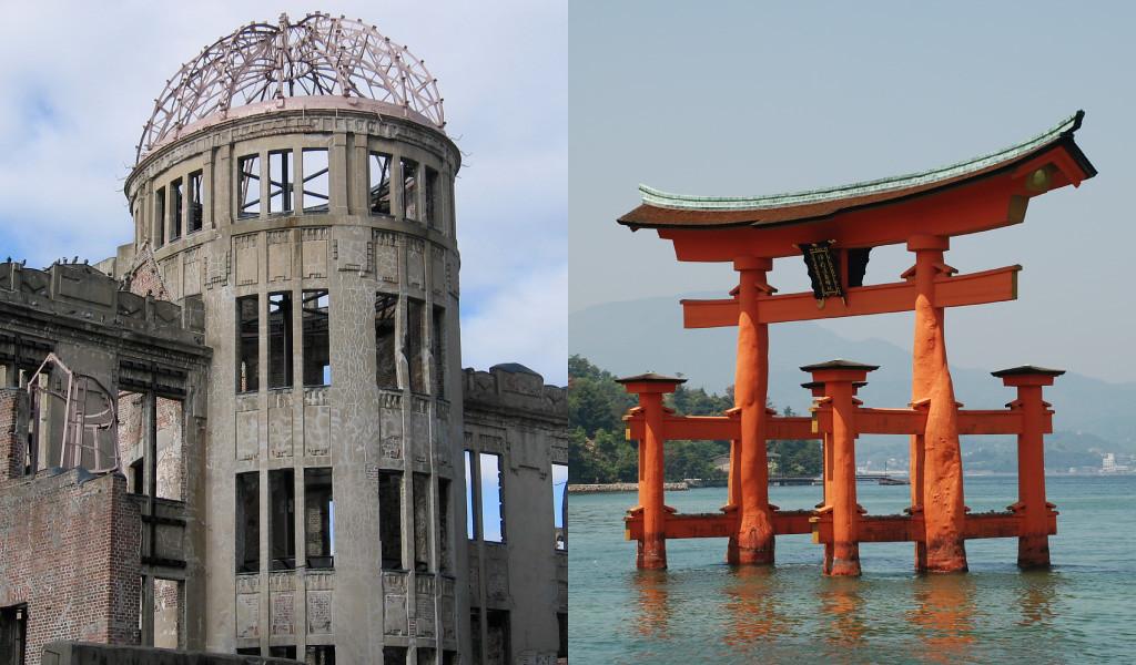 Hiroshima Atomic Bomb Dome and Itsukushima-jinja Shrine, Miyajima