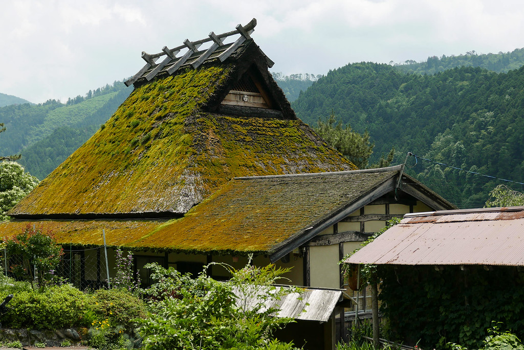 Kayabuki no Sato Village in northern Kyoto image copyright Jeffrey Friedl