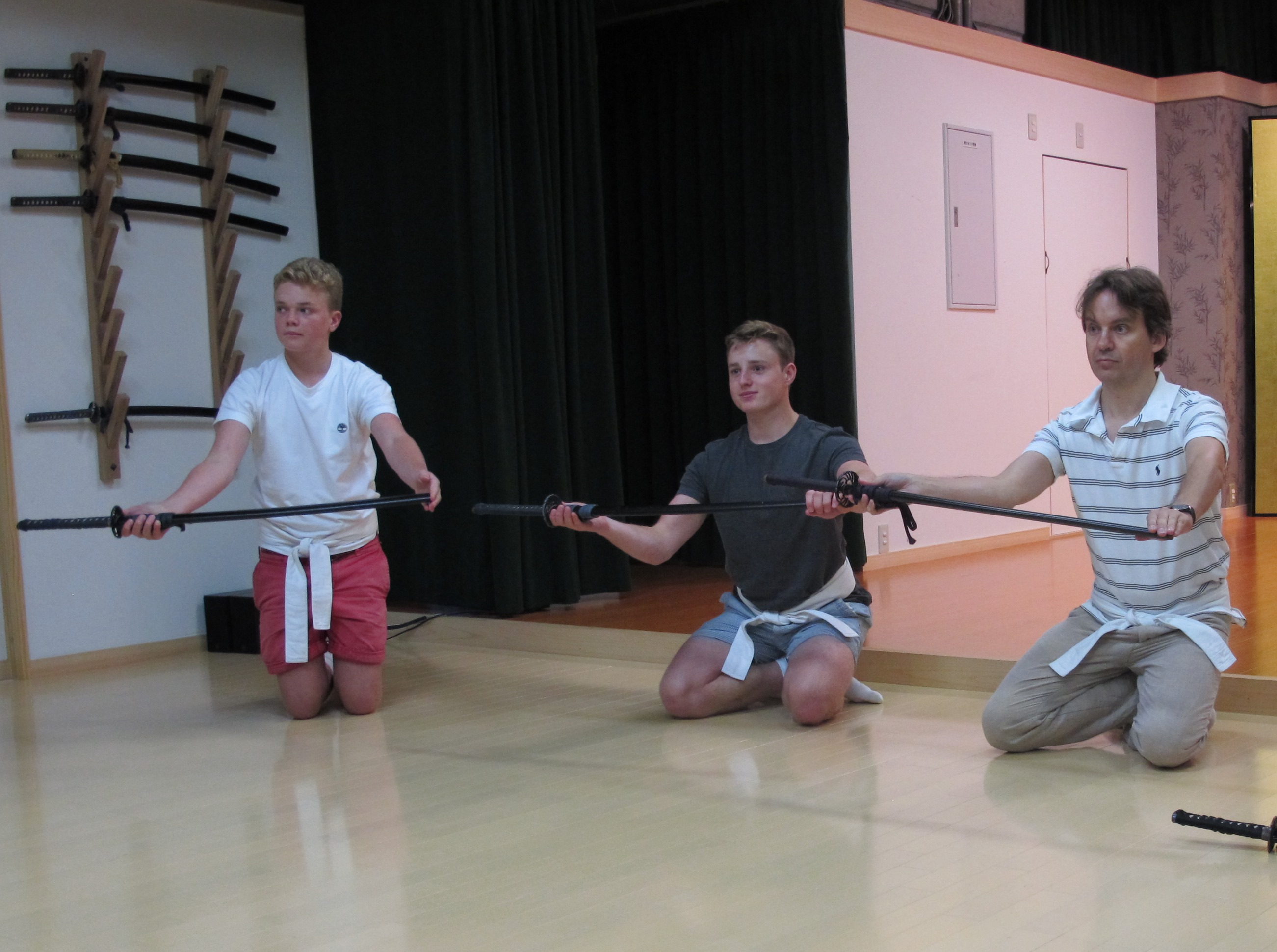 Learning how to present your sword
