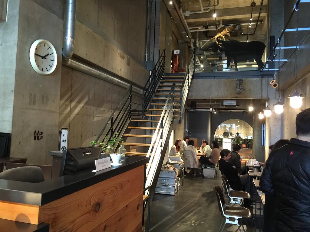 Bridge Coffee interior
